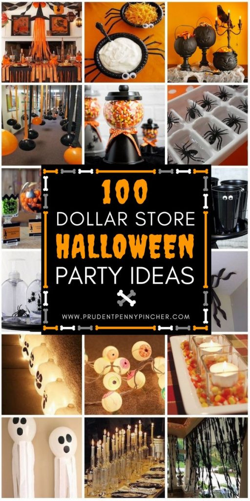 Diy Halloween Party Ideas  100 Dollar Store Halloween Decorations Prudent Penny Pincher