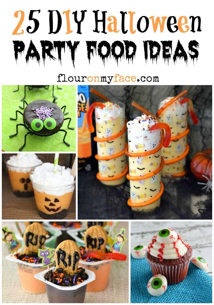 Diy Halloween Party Ideas  25 DIY Halloween Party Food Ideas