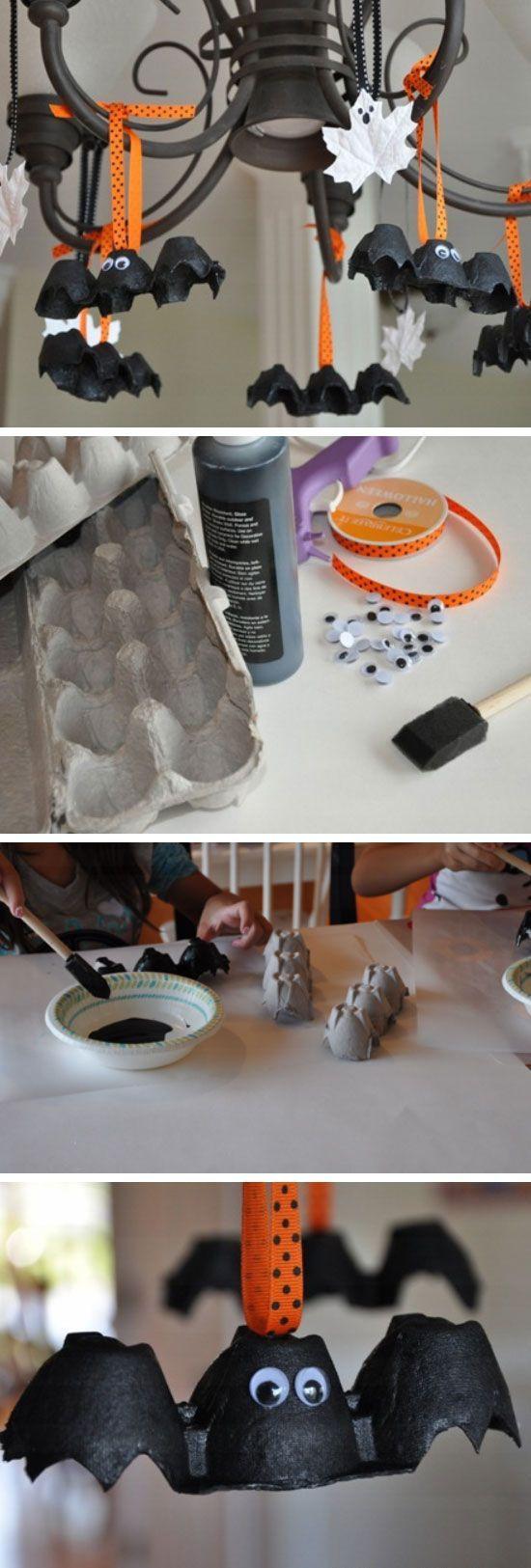 Diy Halloween Party Ideas  Best 25 Bat craft ideas on Pinterest