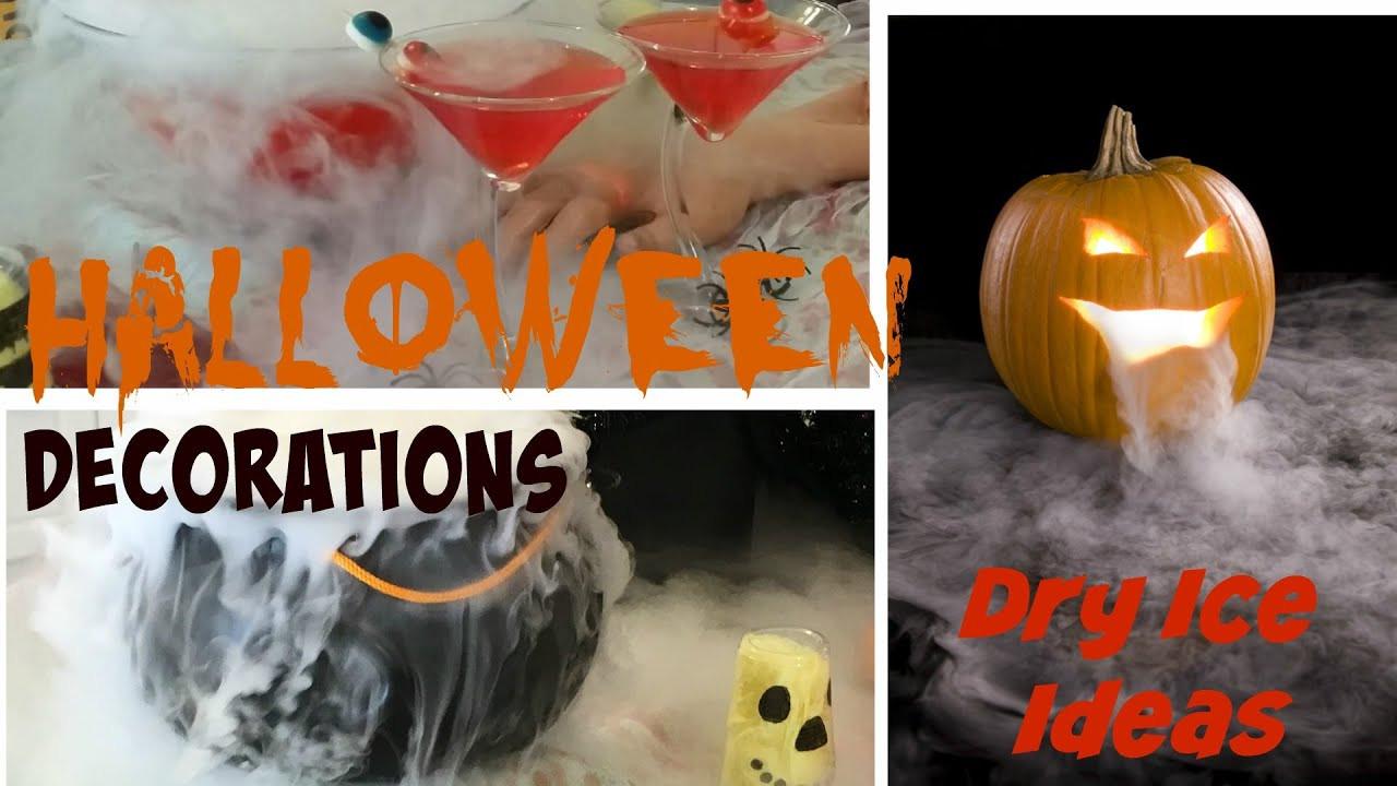 Diy Halloween Party Ideas  DIY Halloween Party Decoration Ideas Dry Ice Tutorial