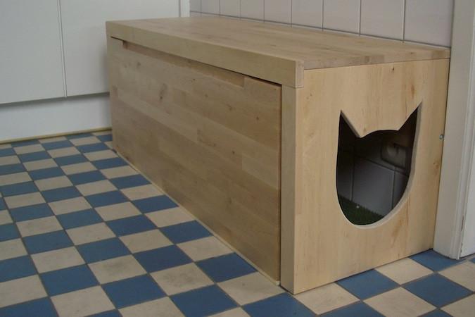 DIY Hidden Cat Litter Box  DIY 2 Hidden Entryway Cat Litter Boxes – Pet Project