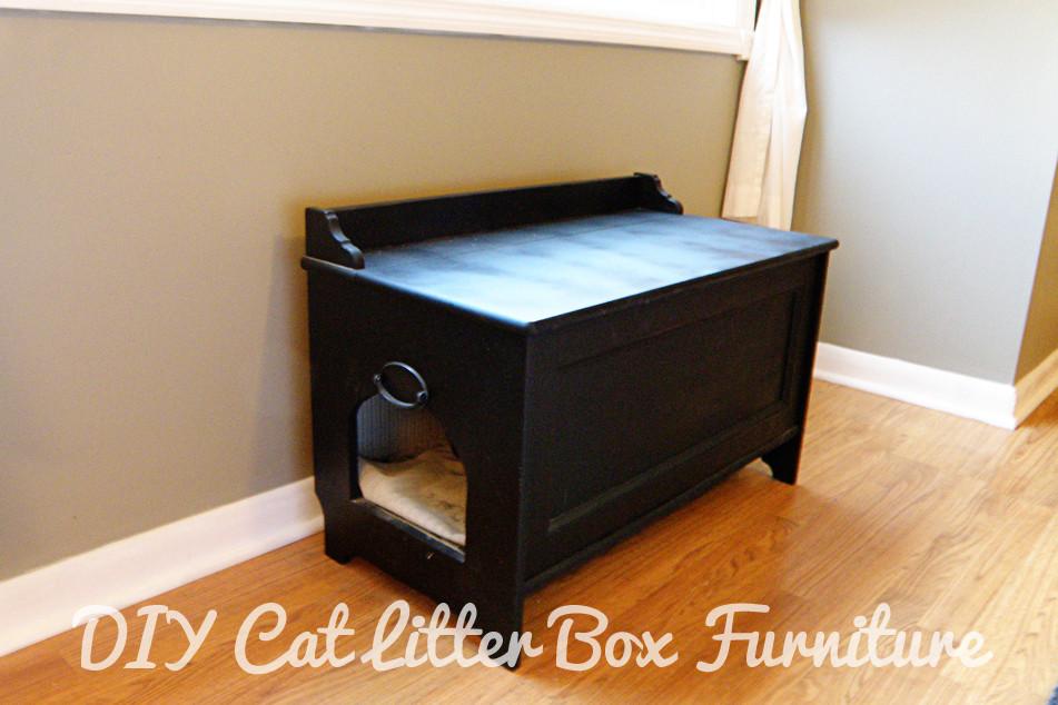 DIY Hidden Cat Litter Box  301 Moved Permanently