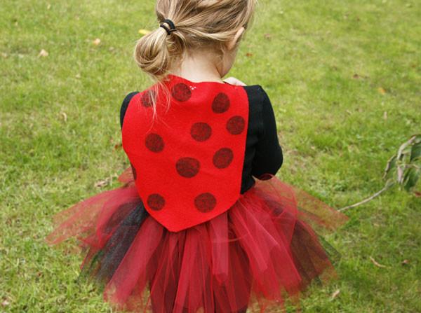 DIY Ladybug Costume  4 Easy no sew DIY Halloween costumes for preschoolers