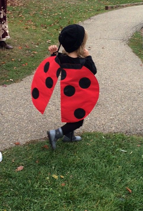DIY Ladybug Costume  DIY Seven Spotted Ladybug Costume Part 2 …