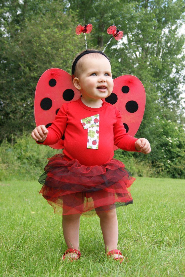 DIY Ladybug Costume  Homemade Little Ladybug Costume