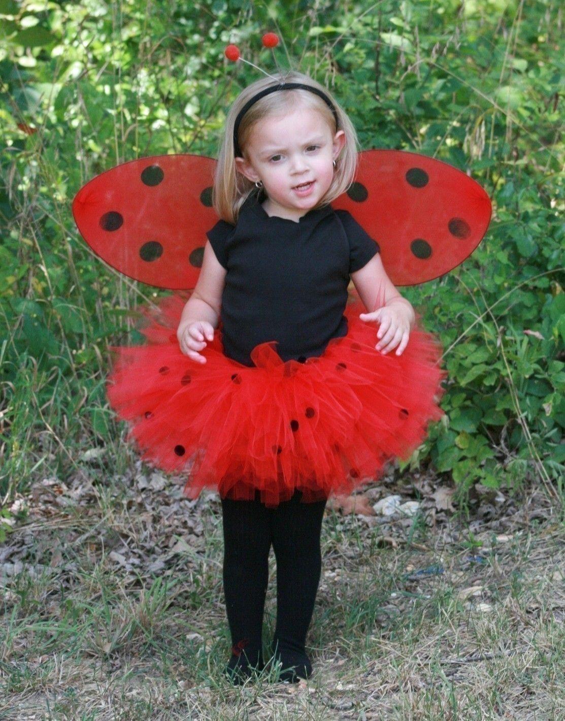 DIY Ladybug Costume  Ladybug Red Black FULL Custom Boutique Tutu Baby Toddler 0