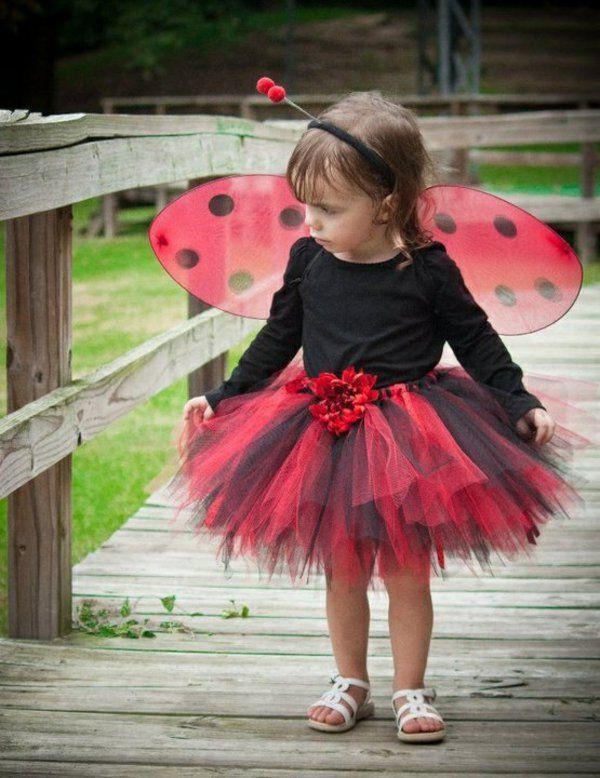 DIY Ladybug Costume  diy kleidung karnevalskostüme lady käfer süß