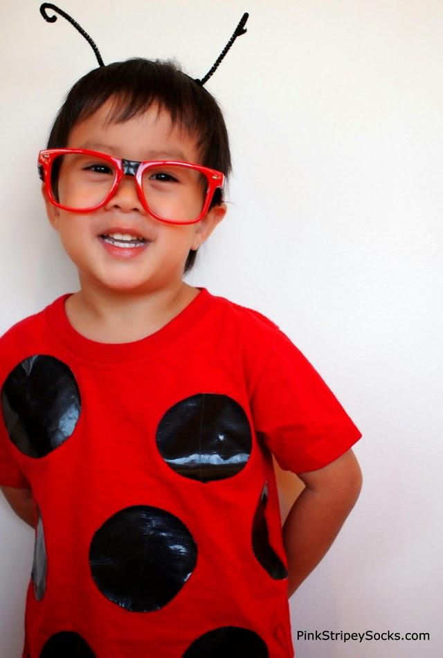 DIY Ladybug Costume  2 DIY Duct Tape Bug Costumes