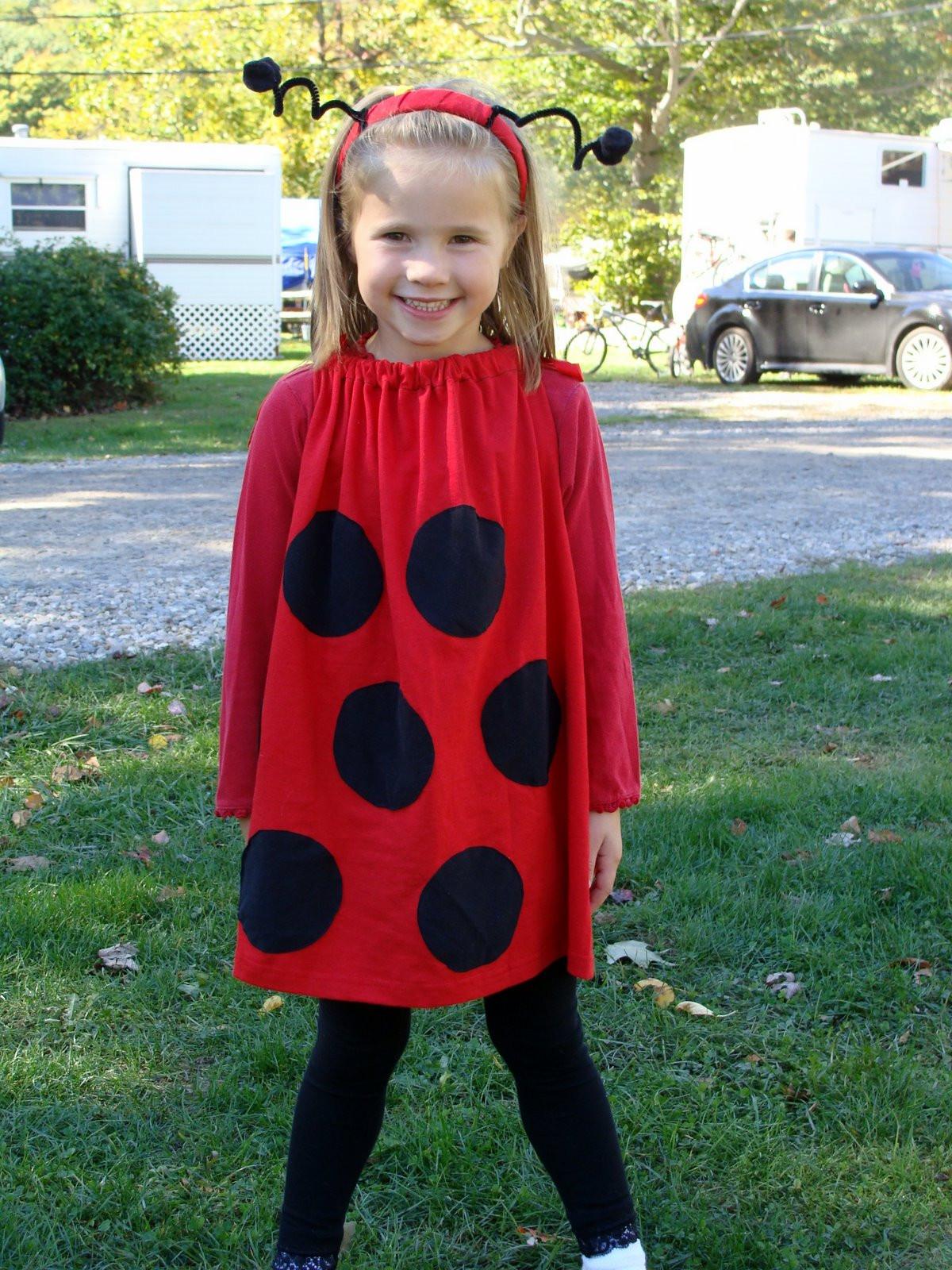 DIY Ladybug Costume  7 All To her Super Easy LadyBug Costume
