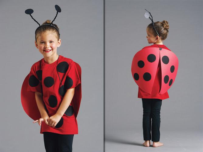 DIY Ladybug Costume  Halloween costume idea Ladybug