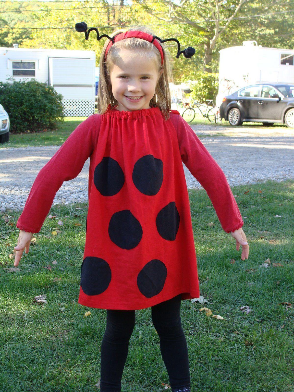 DIY Ladybug Costume  homemade ladybug costume Google Search
