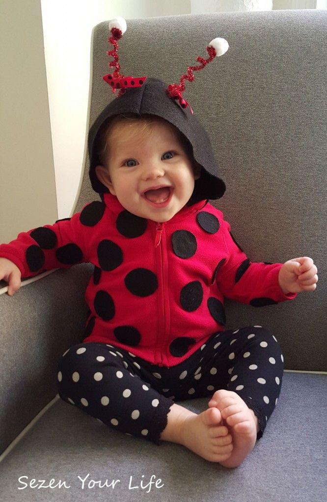 DIY Ladybug Costume  Adorable DIY ladybug costume for baby by Sezen Your Life