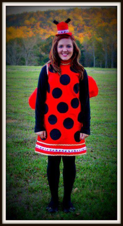 DIY Ladybug Costume  my homemade ladybug costume Halloween in 2019