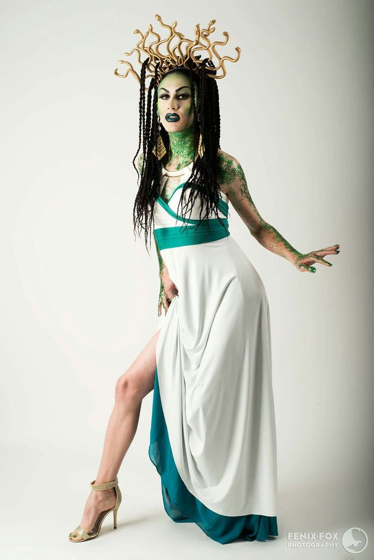 DIY Medusa Costume  45 best images about Henkaa Halloween on Pinterest