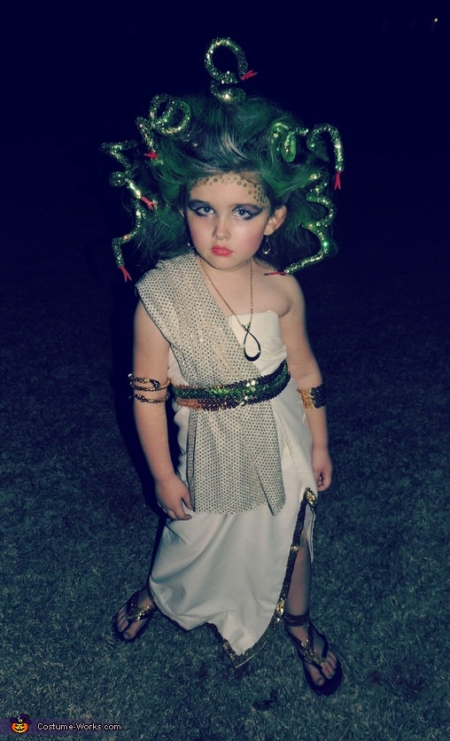 DIY Medusa Costume  Medusa Costume for Girls
