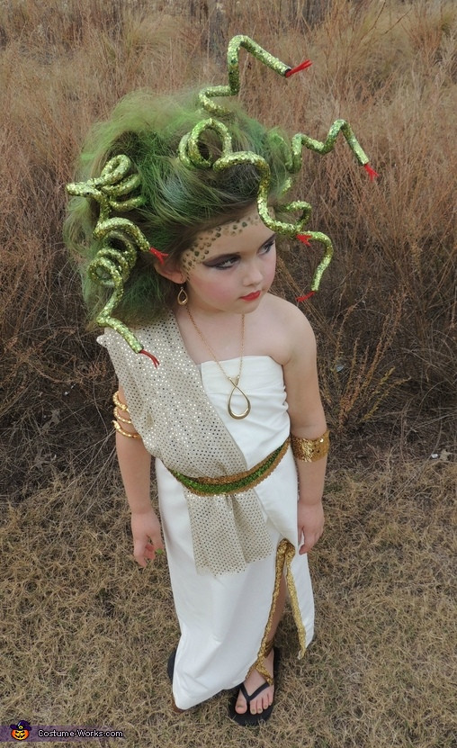 DIY Medusa Costume  Halloween Costume Ideas for Every Girl Design Dazzle