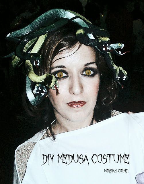 DIY Medusa Costume  17 Best images about snake on Pinterest
