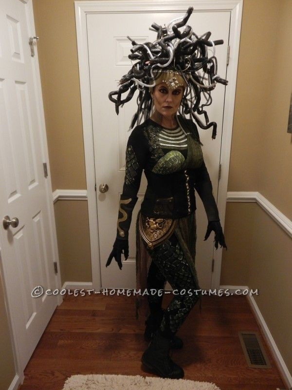 DIY Medusa Costume  Contest Winning DIY Medusa Costume