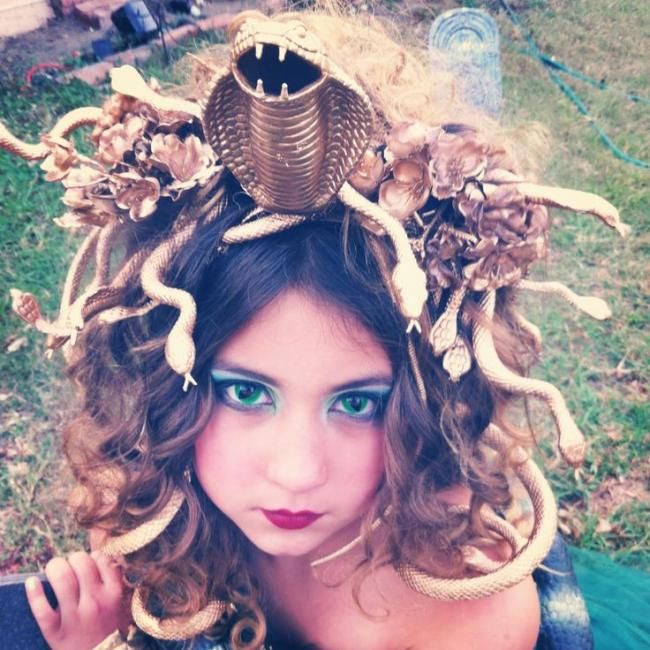 DIY Medusa Costume  Homemade Medusa Costume Ideas medusa