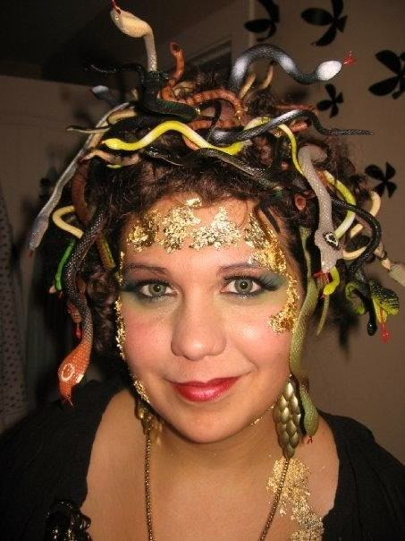 DIY Medusa Costume  111 best images about Halloween Costume Ideas on Pinterest