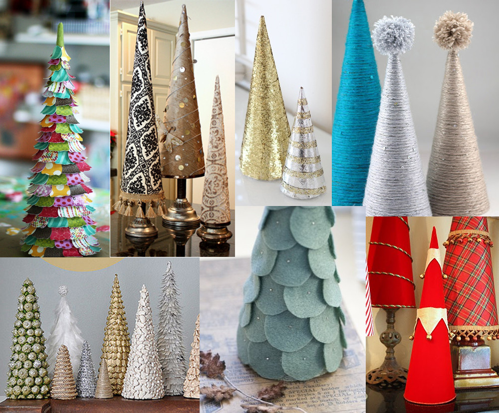 DIY Mini Christmas Trees  The How To Gal December Pinterest Party DIY Mini