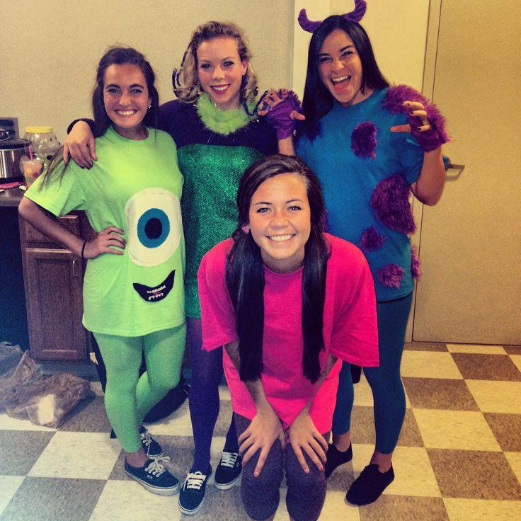 DIY Monster Inc Costume  Best 25 Monster inc costumes ideas on Pinterest
