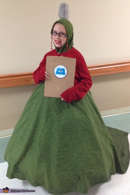 DIY Monster Inc Costume  Roz from Monsters Inc Halloween Costume Contest at