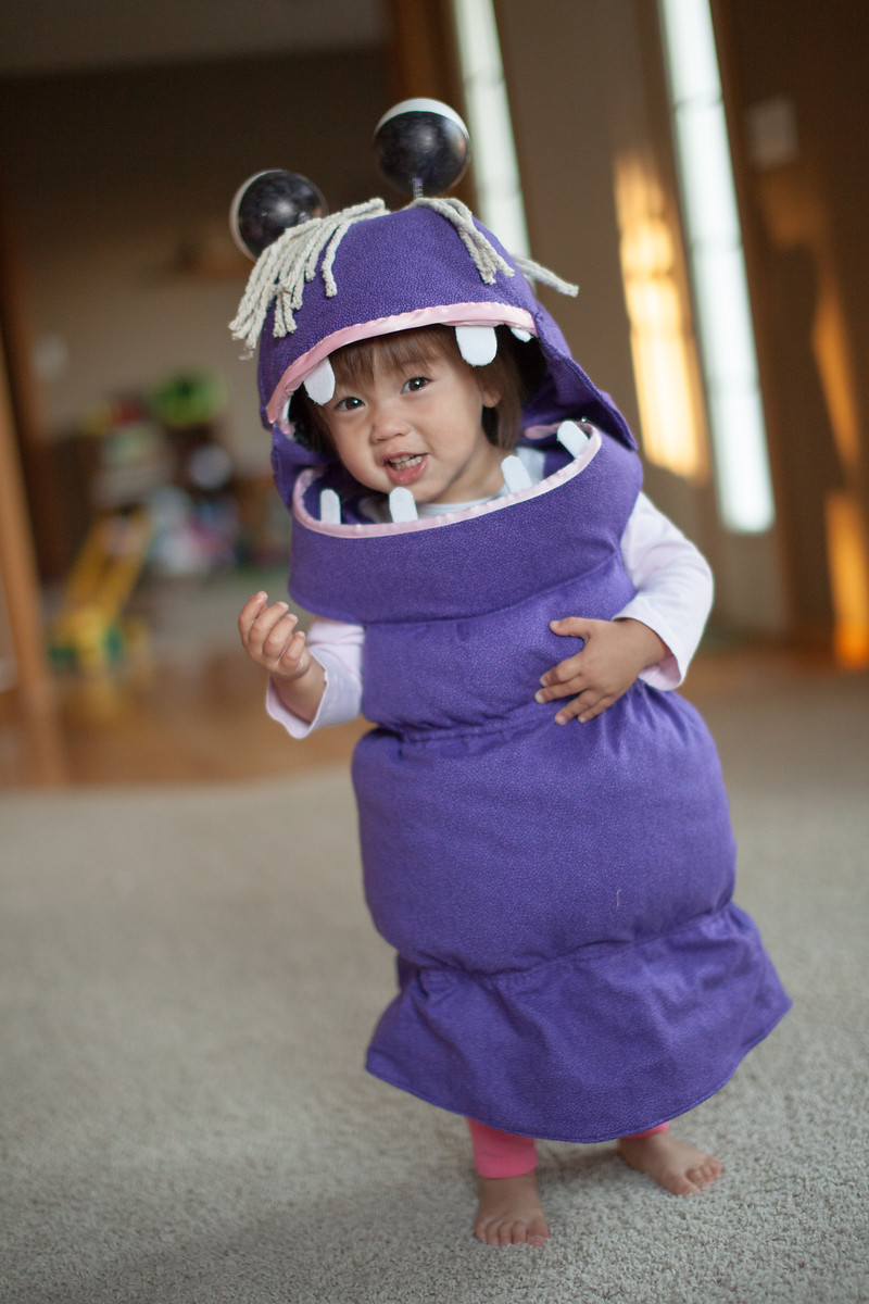 DIY Monster Inc Costume  Boo from Monster s Inc My Daughter s Halloween Costume