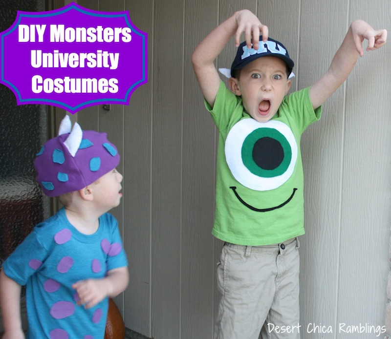 DIY Monster Inc Costume  DIY Disney Inspired Costume Round up