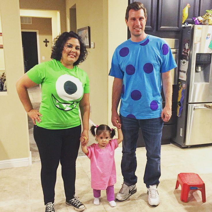 DIY Monster Inc Costume  DIY Monster s Inc family costume