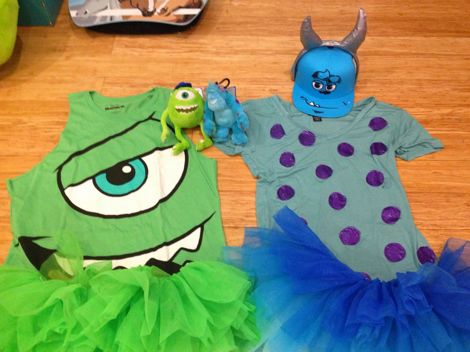 DIY Monster Inc Costume  Elisabeth Easy DIY Mike and Sulley Costumes