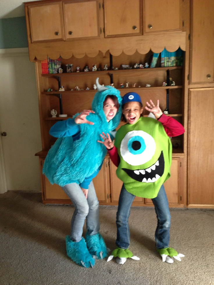 DIY Monster Inc Costume  Proof costumes can be homemade Check out our Monster Inc