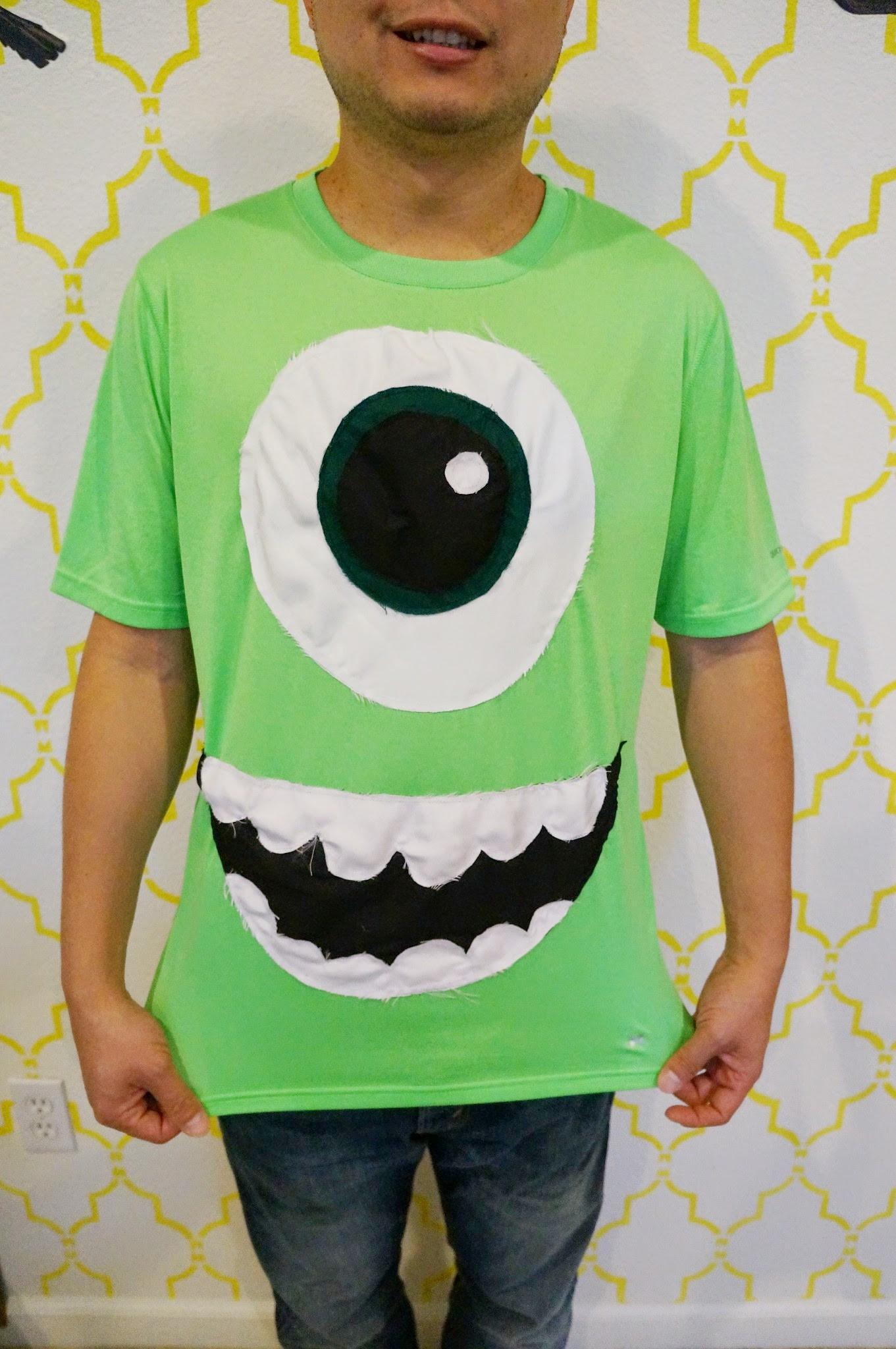 DIY Monster Inc Costume  DIY Monster's Inc Costumes