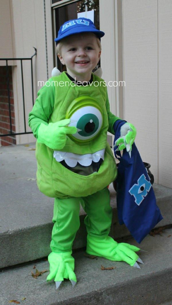 DIY Monster Inc Costume  DIY Monsters University Family Costumes
