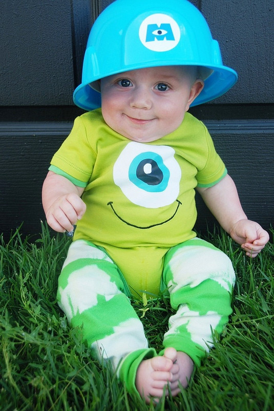 DIY Monster Inc Costume  Be Different Act Normal October 2012