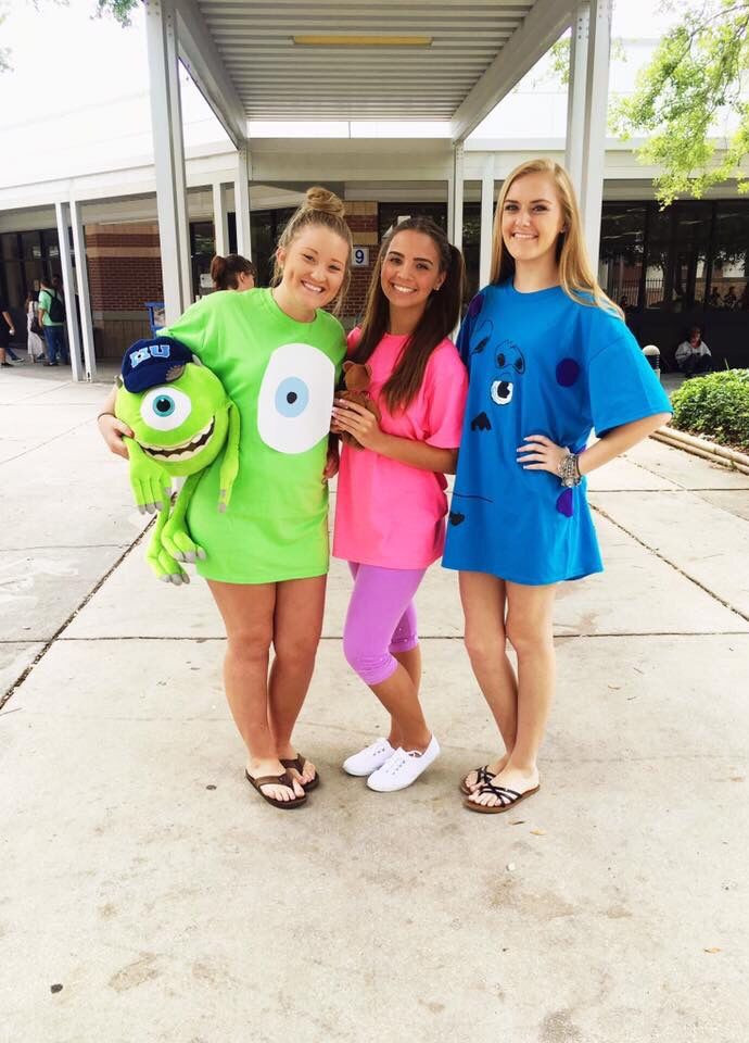 DIY Monster Inc Costume  1000 ideas about Disney Halloween Costumes on Pinterest