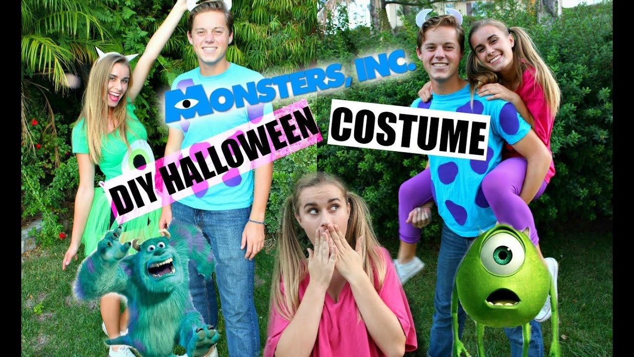 DIY Monster Inc Costume  DIY Monsters Inc Inspired Halloween Costumes