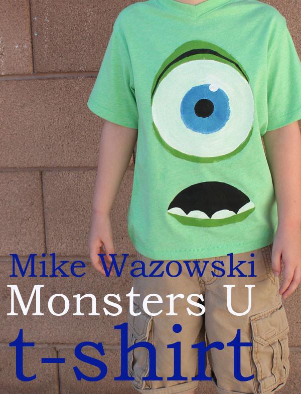 DIY Monster Inc Costume  DIY Monsters University Inc FUN