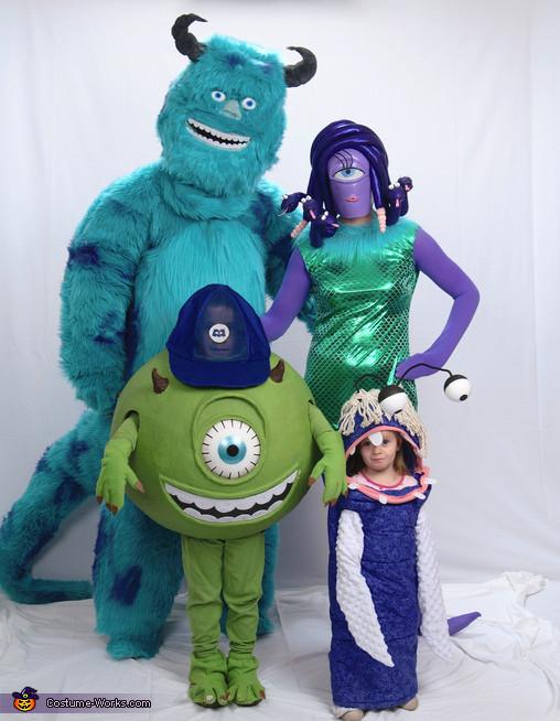 DIY Monster Inc Costume  Monsters Inc Family Costume