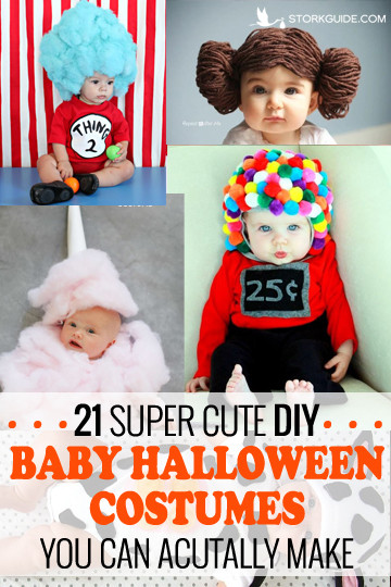 DIY Newborn Halloween Costumes  21 Super Cute DIY Baby Halloween Costumes You can Actually