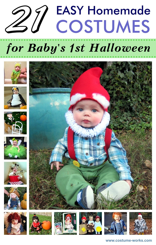 DIY Newborn Halloween Costumes  21 Easy Homemade Costumes for Baby s First Halloween