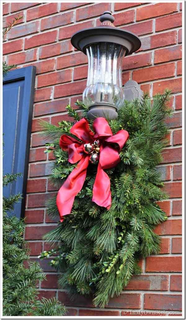 DIY Outdoor Christmas Decorating Ideas  DIY Christmas Decorations Christmas Celebration All