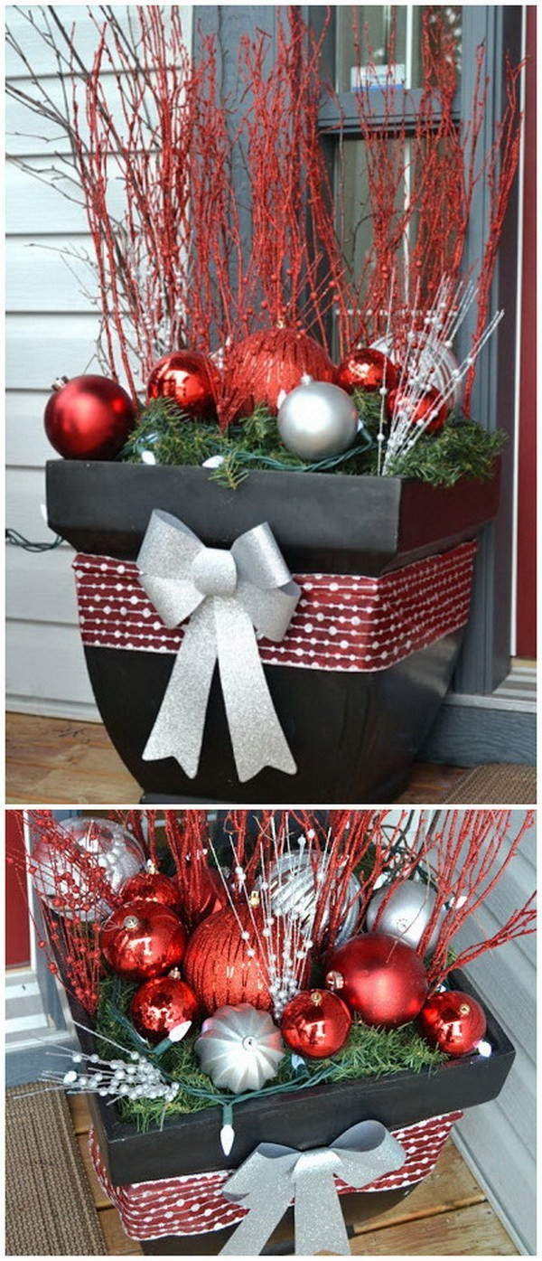 DIY Outdoor Christmas Decorating Ideas  30 Amazing DIY Outdoor Christmas Decoration Ideas For