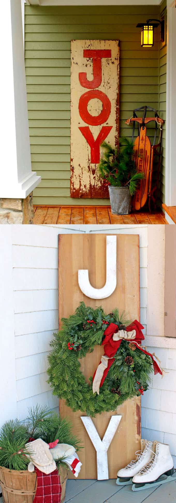 DIY Outdoor Christmas Decorations  Gorgeous Outdoor Christmas Decorations 32 Best Ideas