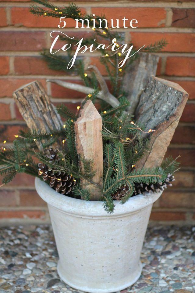 DIY Outdoor Christmas Decorations  27 Cheerful DIY Christmas Decoration Ideas You Should Look