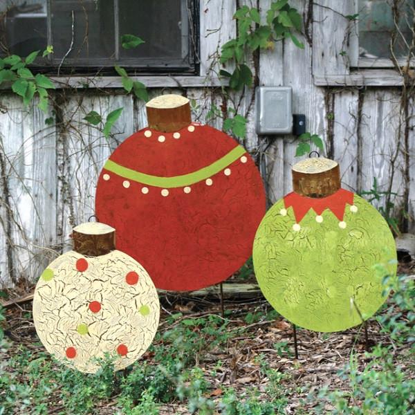 DIY Outdoor Christmas Decorations  Attractive DIY Outdoor Christmas Decorations Pink Lover