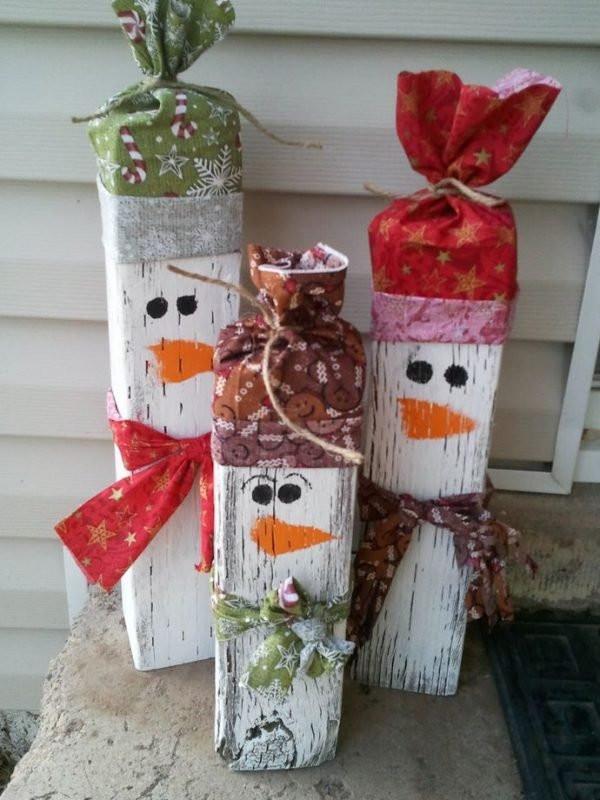 DIY Outdoor Christmas Decorations  Diy Christmas outdoor decorations ideas Little Piece Me