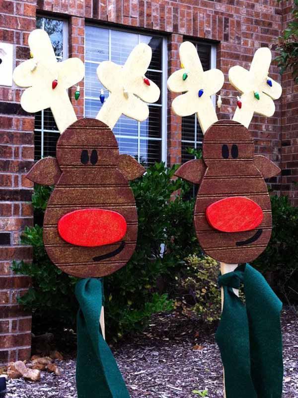 DIY Outdoor Christmas Decorations  DIY Christmas Decorations Christmas Celebration All