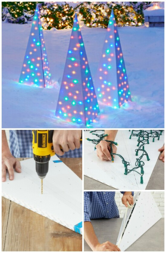 DIY Outdoor Christmas Lights  20 Impossibly Creative DIY Outdoor Christmas Decorations