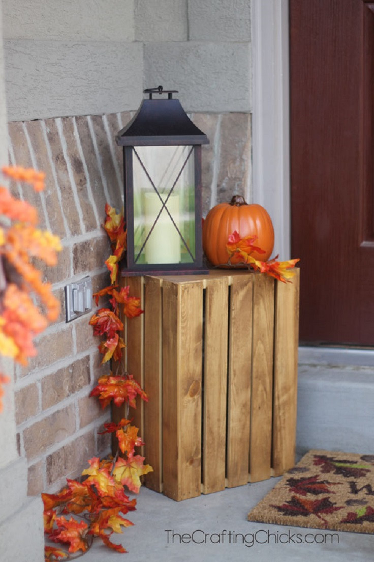 Diy Outdoor Fall Decor  Fall Decorations to Get Inspired 11 DIY Projects to Bring